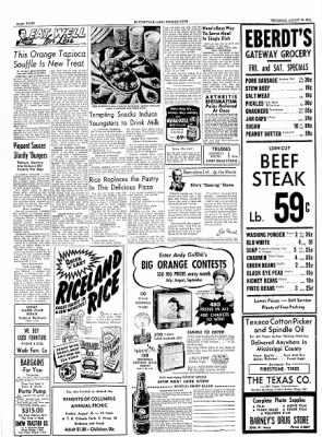 The Courier News from Blytheville, Arkansas on August 12, 1954 · Page 8