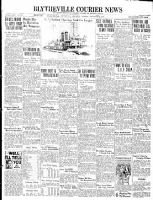 The Courier News from Blytheville, Arkansas on December 17, 1937 · Page 1