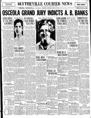 The Courier News from Blytheville, Arkansas on March 19, 1931 · Page 1