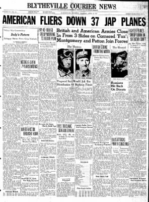 The Courier News from Blytheville, Arkansas on April 8, 1943 · Page 1