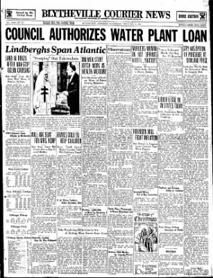 The Courier News from Blytheville, Arkansas on December 6, 1933 · Page 1