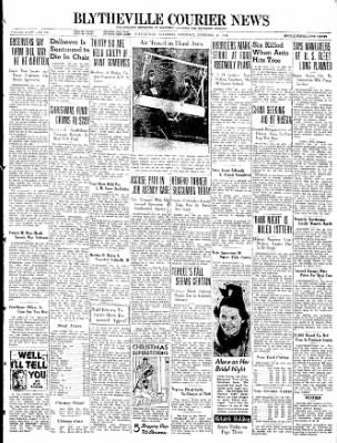 The Courier News from Blytheville, Arkansas on December 18, 1937 · Page 1