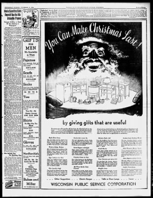 Wausau Daily Herald from Wausau, Wisconsin on December 12, 1934 · 11