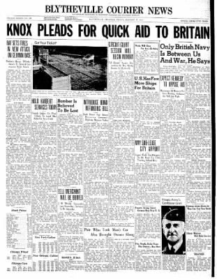 The Courier News from Blytheville, Arkansas on January 17, 1941 · Page 1