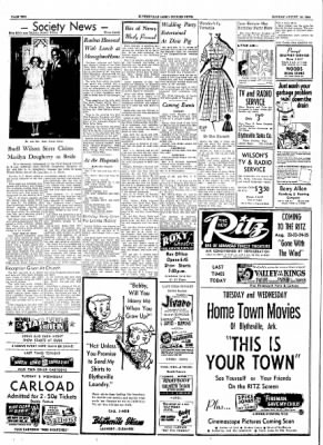 The Courier News from Blytheville, Arkansas on August 16, 1954 · Page 2