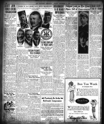 San Francisco Chronicle from San Francisco, California on September 3, 1916 · Page 32