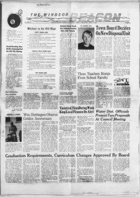 The Windsor Beacon from Windsor, Colorado on April 13, 1967 · 1