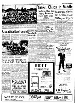 The Courier News from Blytheville, Arkansas on September 8, 1955 · Page 8