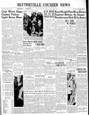 The Courier News from Blytheville, Arkansas on January 18, 1941 · Page 1