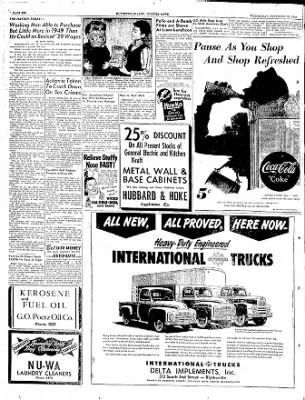 The Courier News from Blytheville, Arkansas on November 30, 1949 · Page 6
