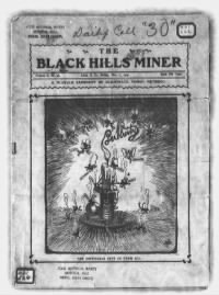 Sample The Black Hills Miner front page
