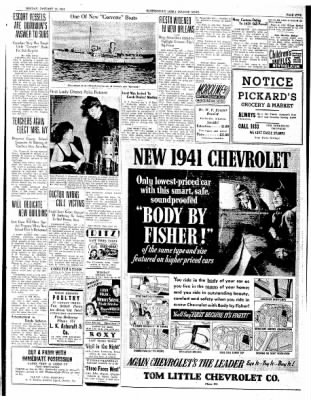 The Courier News from Blytheville, Arkansas on January 20, 1941 · Page 5