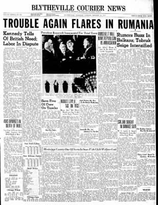 The Courier News from Blytheville, Arkansas on January 21, 1941 · Page 1