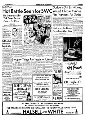 The Courier News from Blytheville, Arkansas on September 9, 1955 · Page 7