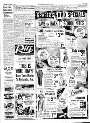 The Courier News from Blytheville, Arkansas on August 18, 1954 · Page 5