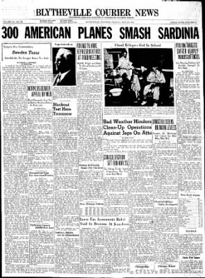 The Courier News from Blytheville, Arkansas on May 25, 1943 · Page 1
