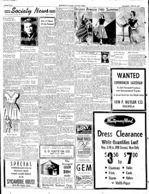 The Courier News from Blytheville, Arkansas on June 22, 1950 · Page 4