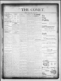 Sample Courtland Journal front page