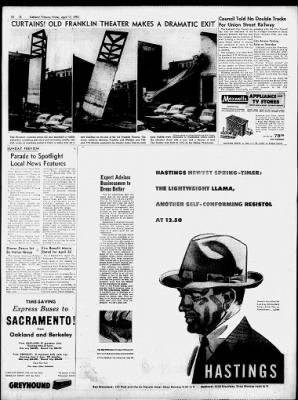 Oakland Tribune from Oakland, California on April 17, 1953 · 10