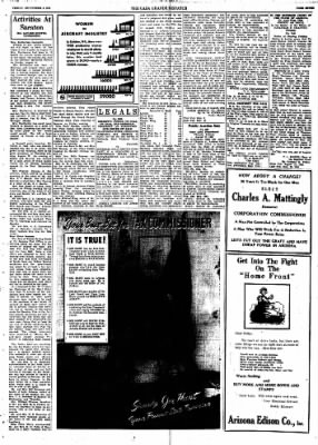 Casa Grande Dispatch from Casa Grande, Arizona on September 4, 1942 · Page 7