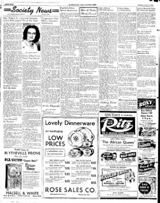The Courier News from Blytheville, Arkansas on May 9, 1952 · Page 4