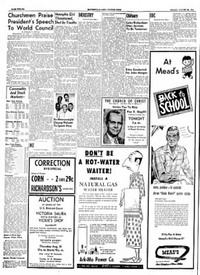 The Courier News from Blytheville, Arkansas on August 20, 1954 · Page 12