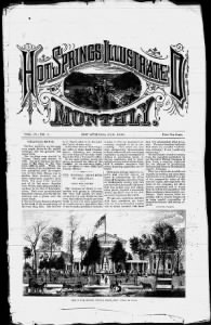 Sample Hot Springs Illustrated Monthly front page