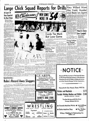 The Courier News from Blytheville, Arkansas on August 21, 1954 · Page 6
