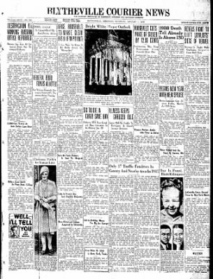 The Courier News from Blytheville, Arkansas on January 1, 1938 · Page 1