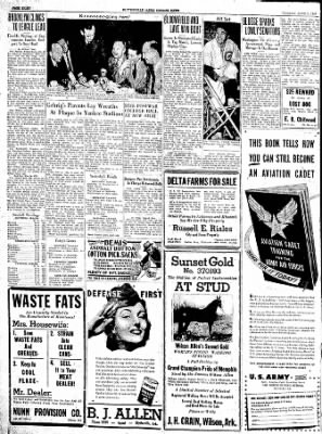 The Courier News from Blytheville, Arkansas on June 1, 1943 · Page 8