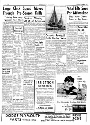 The Courier News from Blytheville, Arkansas on August 24, 1954 · Page 4