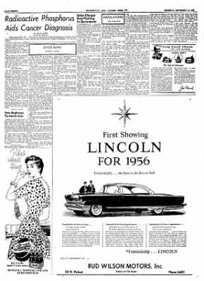 The Courier News from Blytheville, Arkansas on September 15, 1955 · Page 19