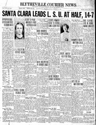 The Courier News from Blytheville, Arkansas on January 1, 1937 · Page 1