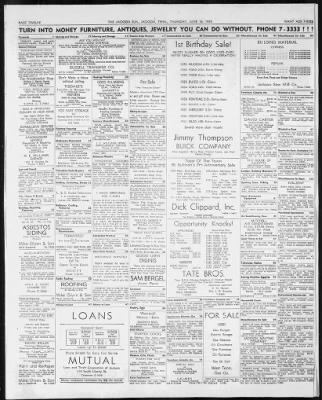 The Jackson Sun From Jackson Tennessee On June 16 1955 12