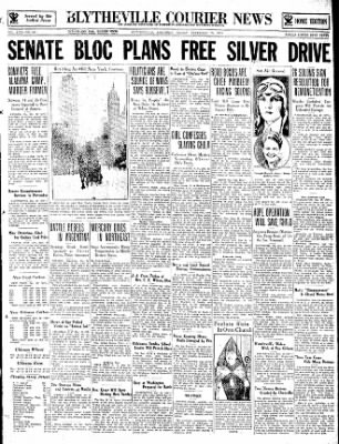 The Courier News from Blytheville, Arkansas on December 29, 1933 · Page 1