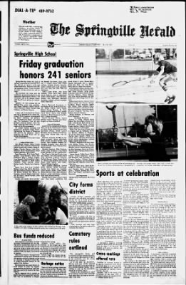 The Springville Herald From Springville Utah On May 24 1979 1