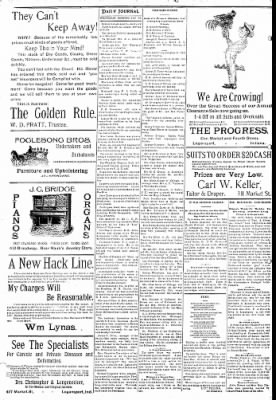 Logansport Pharos-Tribune from Logansport, Indiana on January 30, 1895 · Page 8