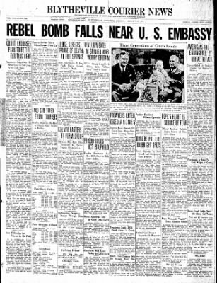 The Courier News from Blytheville, Arkansas on January 4, 1937 · Page 1