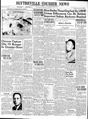 The Courier News from Blytheville, Arkansas on June 5, 1943 · Page 1