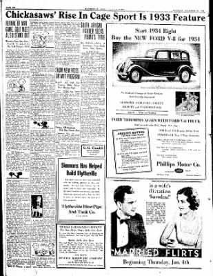 The Courier News from Blytheville, Arkansas on December 30, 1933 · Page 6