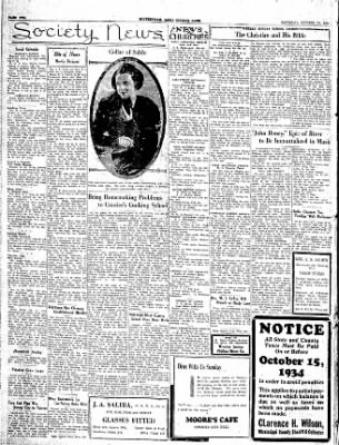 The Courier News from Blytheville, Arkansas on October 13, 1934 · Page 2