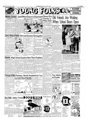 The Courier News from Blytheville, Arkansas on August 27, 1954 · Page 3