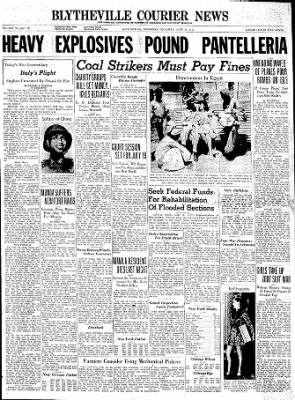 The Courier News from Blytheville, Arkansas on June 10, 1943 · Page 1