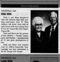 Bringhurst-Olds 50th Anniversary
