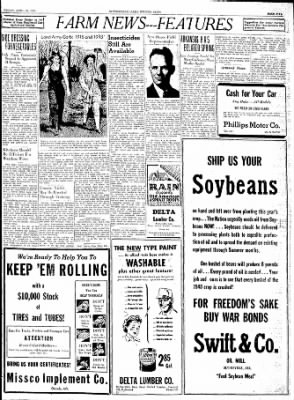 The Courier News from Blytheville, Arkansas on April 30, 1943 · Page 5