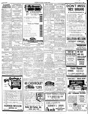 The Courier News from Blytheville, Arkansas on July 3, 1950 · Page 8