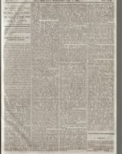 Utah newspaper reports on the last spike (Golden Spike) ceremony of the Transcontinental Railroad