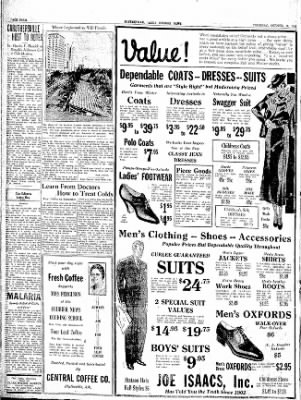 The Courier News from Blytheville, Arkansas on October 18, 1934 · Page 4
