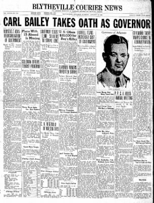 The Courier News from Blytheville, Arkansas on January 12, 1937 · Page 1
