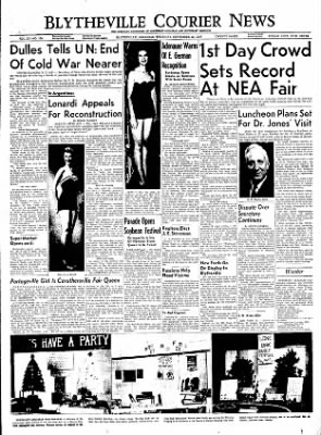 The Courier News from Blytheville, Arkansas on September 22, 1955 · Page 1